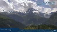 Archiv Foto Webcam Zermatt - Sunnegga 09:00