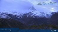 Archiv Foto Webcam Zermatt - Sunnegga 19:00