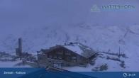 Archiv Foto Webcam Zermatt - Rothorn 19:00