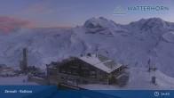 Archived image Webcam Zermatt - Rothorn Mountain 19:00