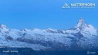 Archiv Foto Webcam Zermatt - Rothorn 23:00