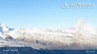 Archiv Foto Webcam Zermatt - Rothorn 01:00