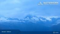 Archived image Webcam Zermatt - Rothorn Mountain 23:00
