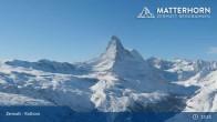Archiv Foto Webcam Zermatt - Rothorn 07:00