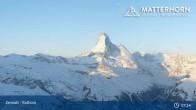 Archived image Webcam Zermatt - Rothorn Mountain 01:00