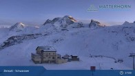 Archiv Foto Webcam Zermatt - Schwarzsee 19:00