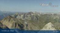 Archiv Foto Webcam Valluga - St. Anton 05:00