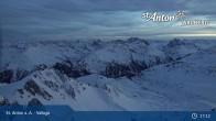 Archiv Foto Webcam Valluga - St. Anton 21:00