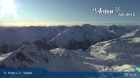 Archiv Foto Webcam Valluga - St. Anton 03:00