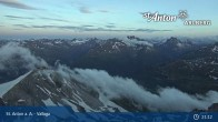 Archived image Webcam Valluga mountain (St. Anton) 19:00