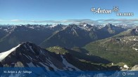 Archived image Webcam Valluga mountain (St. Anton) 01:00