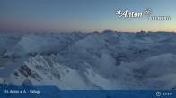 Archiv Foto Webcam Valluga - St. Anton 00:00