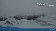 Archiv Foto Webcam Valluga - St. Anton 02:00