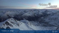 Archiv Foto Webcam Valluga - St. Anton 23:00
