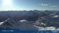 Archiv Foto Webcam Valluga - St. Anton 03:00