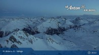 Archiv Foto Webcam Valluga - St. Anton 21:00