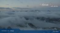 Archived image Webcam Valluga mountain (St. Anton) 23:00