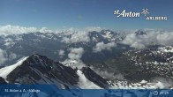 Archived image Webcam Valluga mountain (St. Anton) 03:00