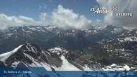 Archived image Webcam Valluga mountain (St. Anton) 05:00