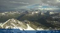 Archived image Webcam Valluga mountain (St. Anton) 13:00