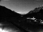 Archiv Foto Webcam Stuben am Arlberg: Blick Richtung Klostertal 18:00