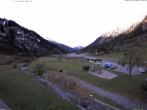 Archiv Foto Webcam Stuben am Arlberg: Blick Richtung Klostertal 02:00