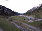 Archiv Foto Webcam Stuben am Arlberg: Blick Richtung Klostertal 04:00