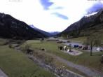 Archiv Foto Webcam Stuben am Arlberg: Blick Richtung Klostertal 08:00