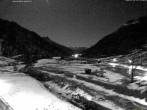 Archiv Foto Webcam Stuben am Arlberg: Blick Richtung Klostertal 23:00