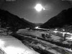 Archiv Foto Webcam Stuben am Arlberg: Blick Richtung Klostertal 01:00