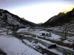 Archiv Foto Webcam Stuben am Arlberg: Blick Richtung Klostertal 07:00