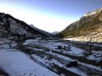 Archiv Foto Webcam Stuben am Arlberg: Blick Richtung Klostertal 11:00