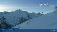 Archived image Webcam Galzig mountain station 07:00