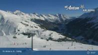 Archived image Webcam Galzig mountain station 09:00