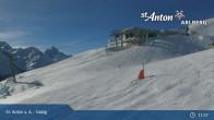 Archived image Webcam Galzig mountain station 10:00
