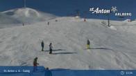 Archived image Webcam Galzig mountain station 11:00