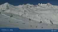 Archived image Webcam Galzig mountain station 12:00