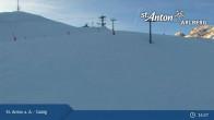 Archived image Webcam Galzig mountain station 15:00
