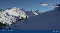 Archiv Foto Webcam St. Anton - Galzig Bergstation 16:00