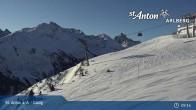 Archiv Foto Webcam St. Anton - Galzig Bergstation 03:00