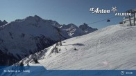 Archiv Foto Webcam St. Anton - Galzig Bergstation 05:00
