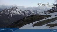 Archiv Foto Webcam St. Anton - Galzig Bergstation 21:00