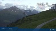Archived image Webcam Galzig Top Station - St. Anton 19:00