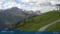 Archived image Webcam Galzig Top Station - St. Anton 03:00