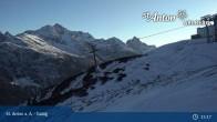 Archiv Foto Webcam St. Anton - Galzig Bergstation 09:00