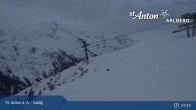 Archiv Foto Webcam St. Anton - Galzig Bergstation 06:00