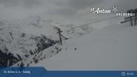 Archiv Foto Webcam St. Anton - Galzig Bergstation 10:00