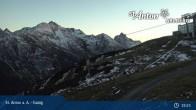 Archived image Webcam Galzig Top Station - St. Anton 21:00