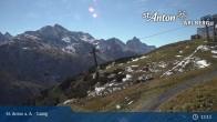 Archived image Webcam Galzig Top Station - St. Anton 07:00