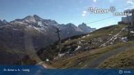 Archived image Webcam Galzig Top Station - St. Anton 09:00
